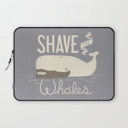 Shave the Whales Laptop Sleeve