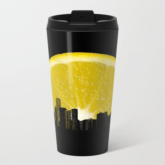 super lemon Metal Travel Mug