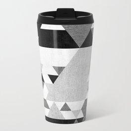The Triangles Metal Travel Mug
