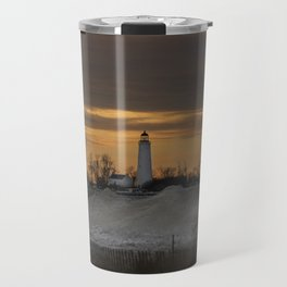 Winter sunset Travel Mug