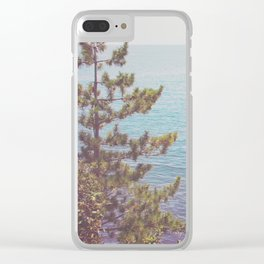 Ocean Beyond the Shore Clear iPhone Case