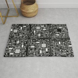 Serious Circuitry Rug