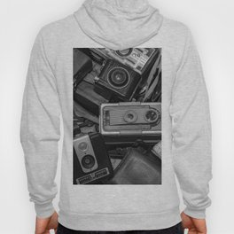 A Mess Of Old Cameras BW Hoody
