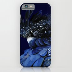 Australian Red-Tailed Black Cockatoo in Blue Slim Case iPhone 6s