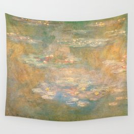 Water Lilies Claude Monet 1908 Wall Tapestry