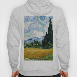 "Vincent van Gogh ""Wheat Field with Cypresses"" Hoody"