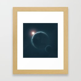 Creation: Day 7 Framed Art Print