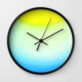 SUNNY DAY - Abstract Graphic Iphone Case Wall Clock