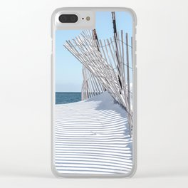 Storm Fencing 2015 Clear iPhone Case