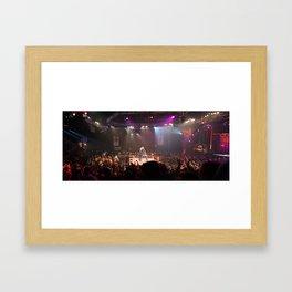 TNA Wrestling Pano Framed Art Print
