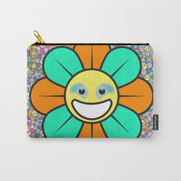 SUPER FLOWER POWER Carry-All Pouch