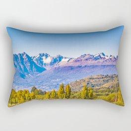 Patagonia Landscape, Aysen, Chile Rectangular Pillow
