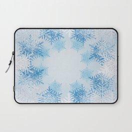 Frost on the Window Laptop Sleeve