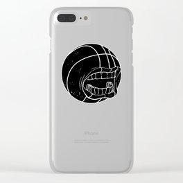 bbs logo silent Clear iPhone Case