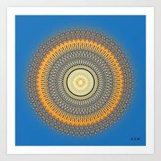 Fleuron Composition No. 214 Art Print