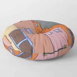 Adobe Sunrise Floor Pillow