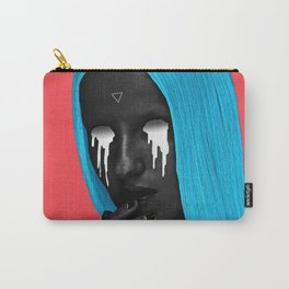 small upside down triangle Carry-All Pouch