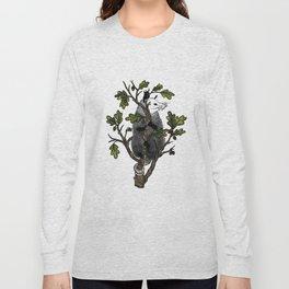 Oak Opossum by Boo Hag Long Sleeve T-shirt