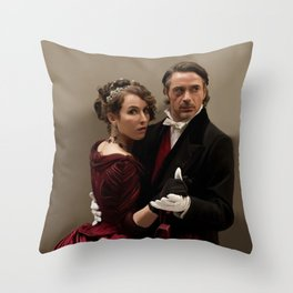 Just follow my lead Throw Pillow