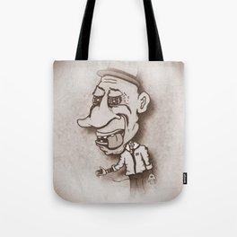 Old Tyme Tattooer Tote Bag