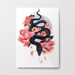Sneeky Snake Metal Print