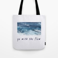 Oahu: Go With The Flow Tote Bag