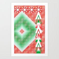 Twinkle Tree Art Print