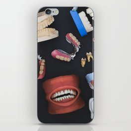 Tooth Collage iPhone Skin