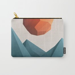 Low Poly Mountain Carry-All Pouch