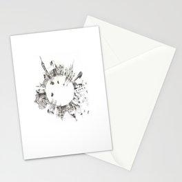 marshland globe Stationery Cards
