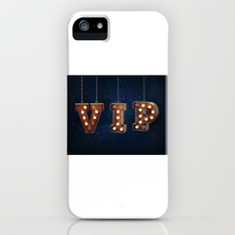 VIP - Very Important Person -  Wall-Art for Hotel-Rooms iPhone Case