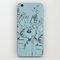 indie iPhone & iPod Skins featuring Indie Rabbit by AurorA