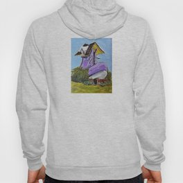 old woman's shoe house Hoody