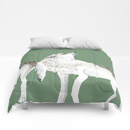 Totem Alaska tundra wolf Comforters