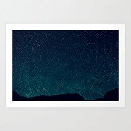 Desert Stars Art Print
