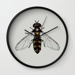Hover fly Wall Clock