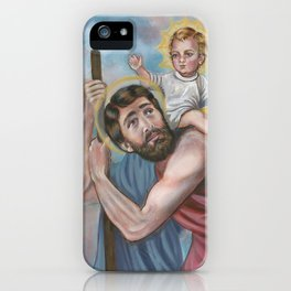 Saint Christopher iPhone Case