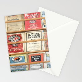 American Rail Brochures, Steamship Lines & More! Stationery Cards