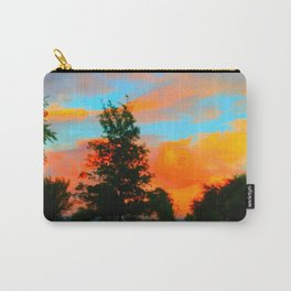 Neon Landscape Carry-All Pouch