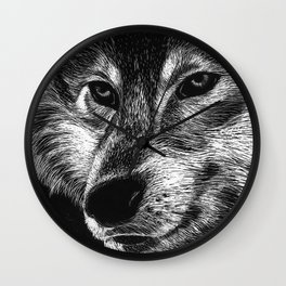 Mister Le Loup Wall Clock