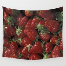 Bushel of Strawberries  Wall Tapestry