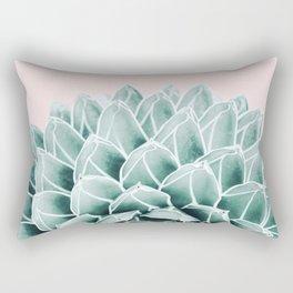 Succulent splendour - blush Rectangular Pillow