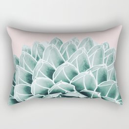 Succulent splendour - blush Rectangular Pillow