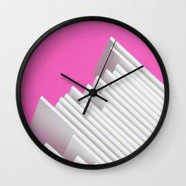 Abstract Paper Wall Clock