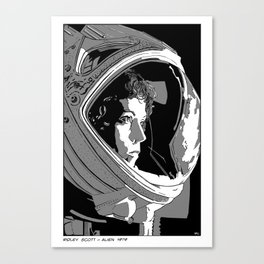 Alien Ripley  Canvas Print