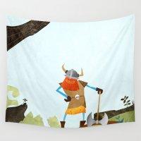 hero Wall Tapestries featuring Hero Shot by Mark Bird