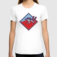 scuba T-shirts featuring Scuba Diver Diving Retro by patrimonio