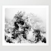 silent hill Art Prints featuring Silent Hill by RIZA PEKER