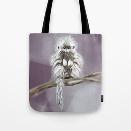 Monty the Monkey Tote Bag
