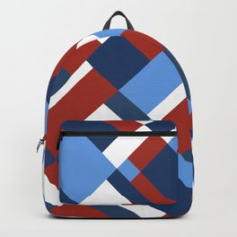Map 45 Red White and Blue Backpack